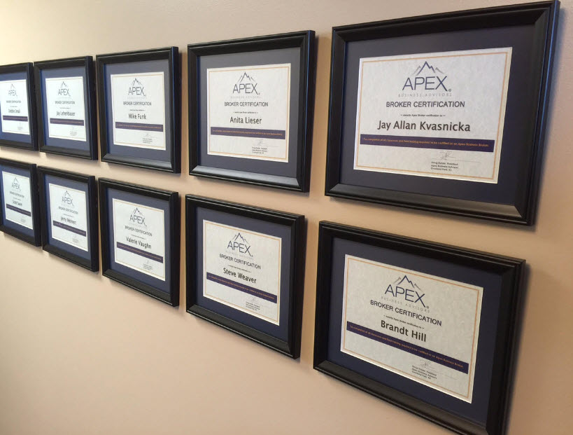 Apex team wall